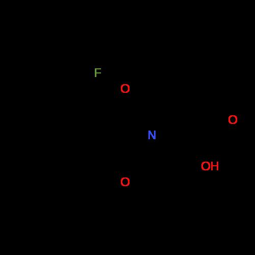 2-(5-(2-Fluorophenyl)-6-methyl-4-oxo-2H-1,3-oxazin-3(4H)-yl)-2-methylpropanoic acid