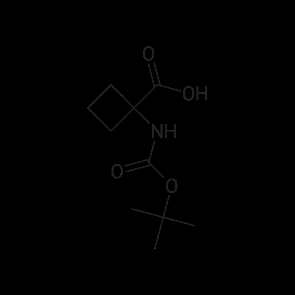 1-((tert-Butoxycarbonyl)amino)cyclobutanecarboxylic acid