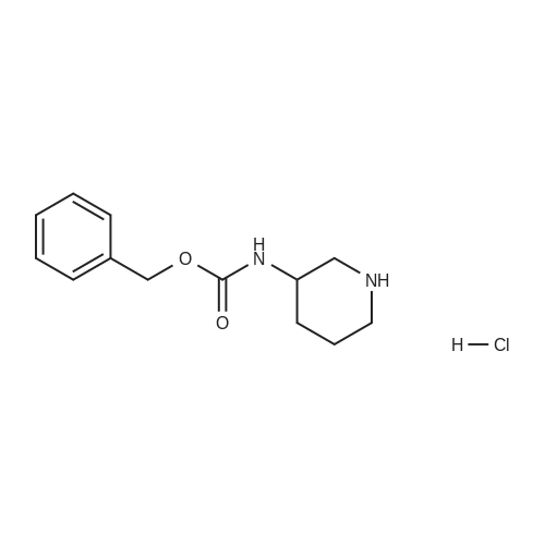 Benzyl piperidin-3-ylcarbamate hydrochloride