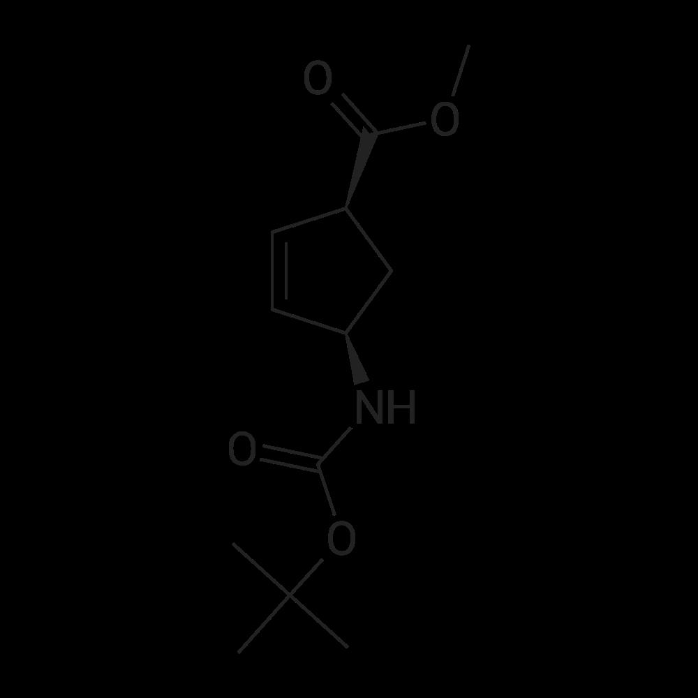 (1S,4R)-Methyl 4-((tert-butoxycarbonyl)amino)cyclopent-2-enecarboxylate
