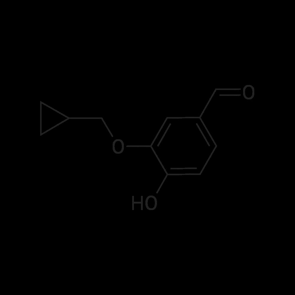 3-(Cyclopropylmethoxy)-4-hydroxybenzaldehyde