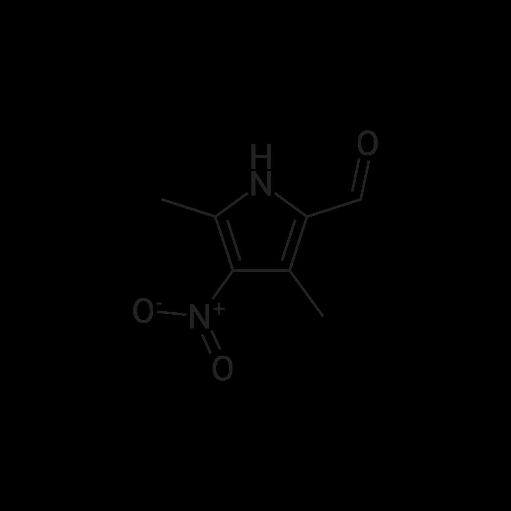 3,5-Dimethyl-4-nitro-1H-pyrrole-2-carbaldehyde