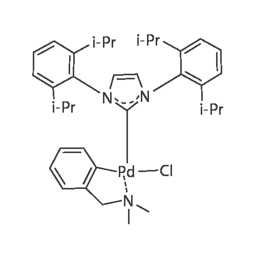 Chloro[[1,3-bis(2,6-diisopropylphenyl)imidazol-2-ylidene](N,N-dimethylbenzylamine)palladium(II)]