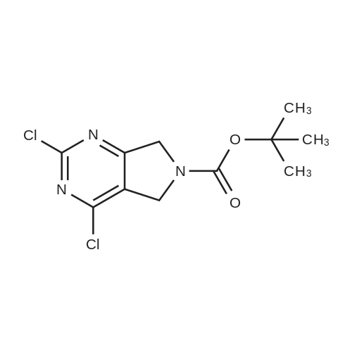tert-Butyl 2,4-dichloro-5H-pyrrolo[3,4-d]pyrimidine-6(7H)-carboxylate