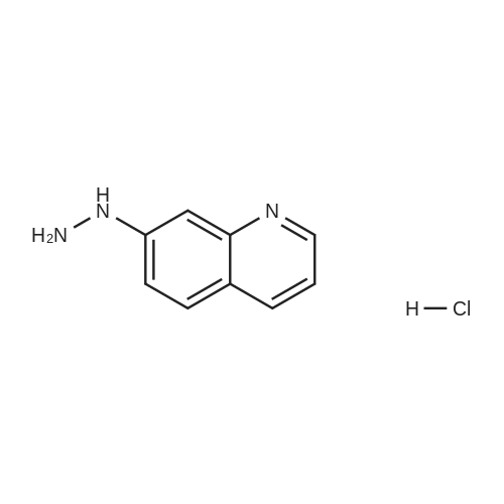 7-Hydrazinylquinoline hydrochloride