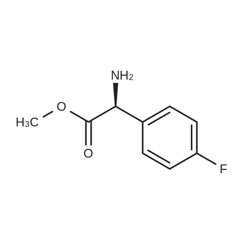(S)-Methyl 2-amino-2-(4-fluorophenyl)acetate