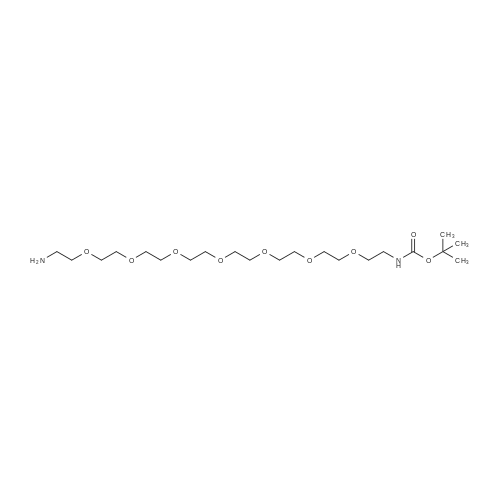 tert-Butyl (23-amino-3,6,9,12,15,18,21-heptaoxatricosyl)carbamate