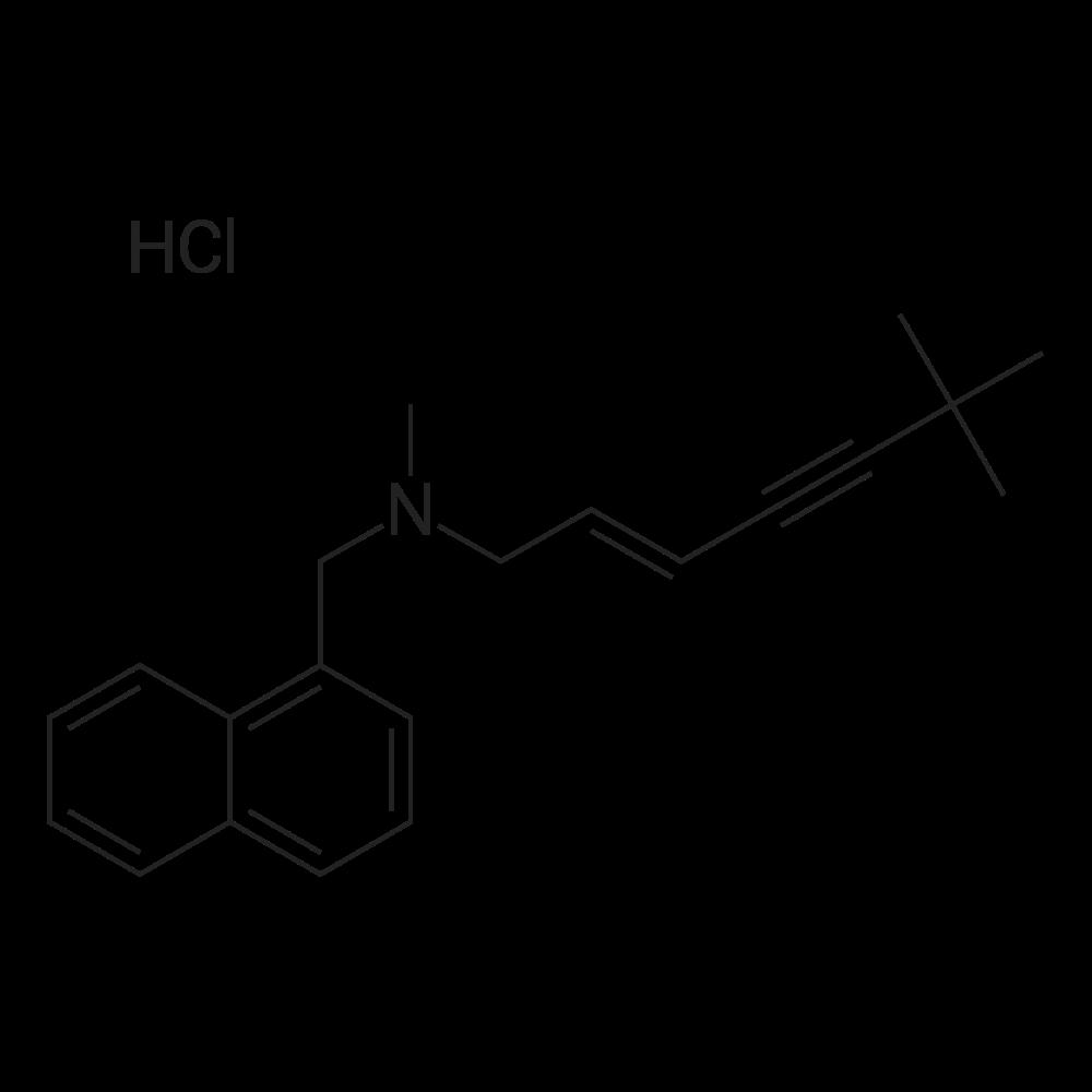 (E)-N,6,6-Trimethyl-N-(naphthalen-1-ylmethyl)hept-2-en-4-yn-1-amine hydrochloride