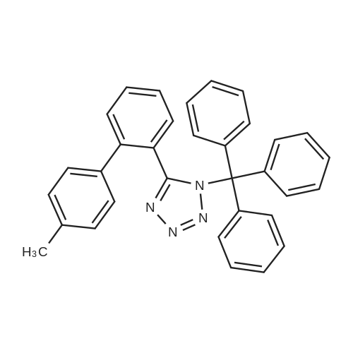 5-(4'-Methyl-[1,1'-biphenyl]-2-yl)-1-trityl-1H-tetrazole
