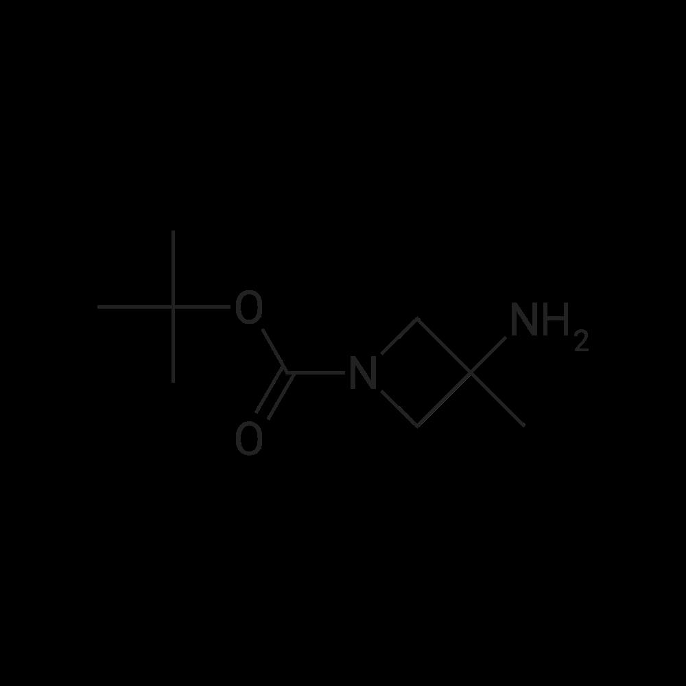 tert-Butyl 3-amino-3-methylazetidine-1-carboxylate