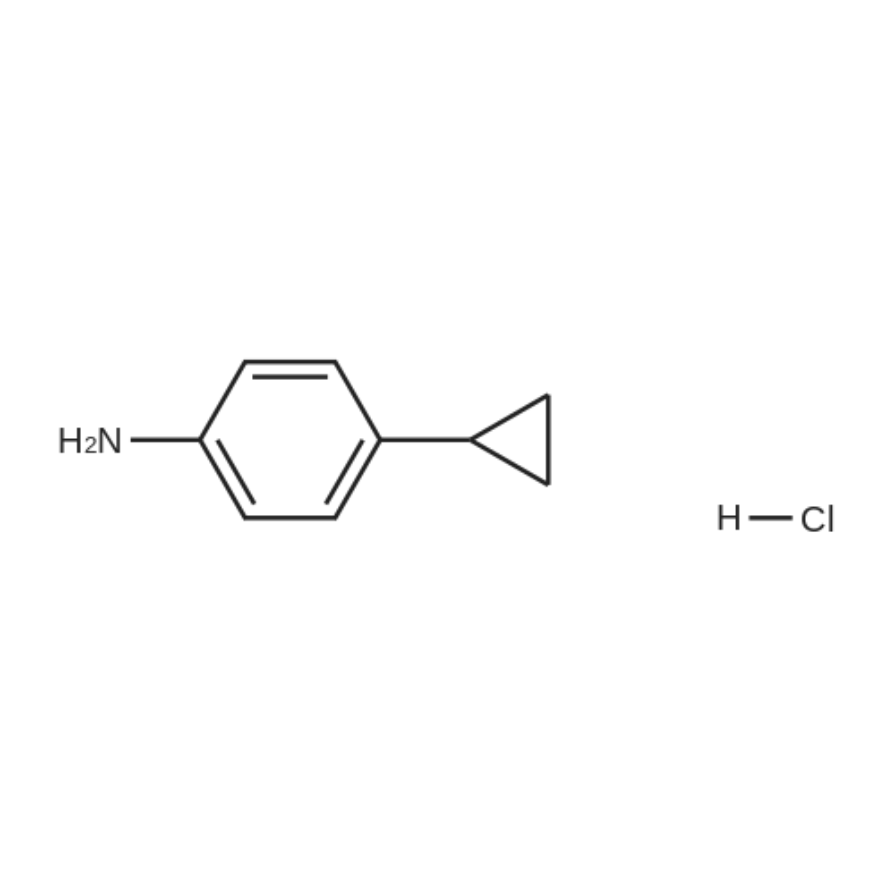4-Cyclopropylaniline hydrochloride