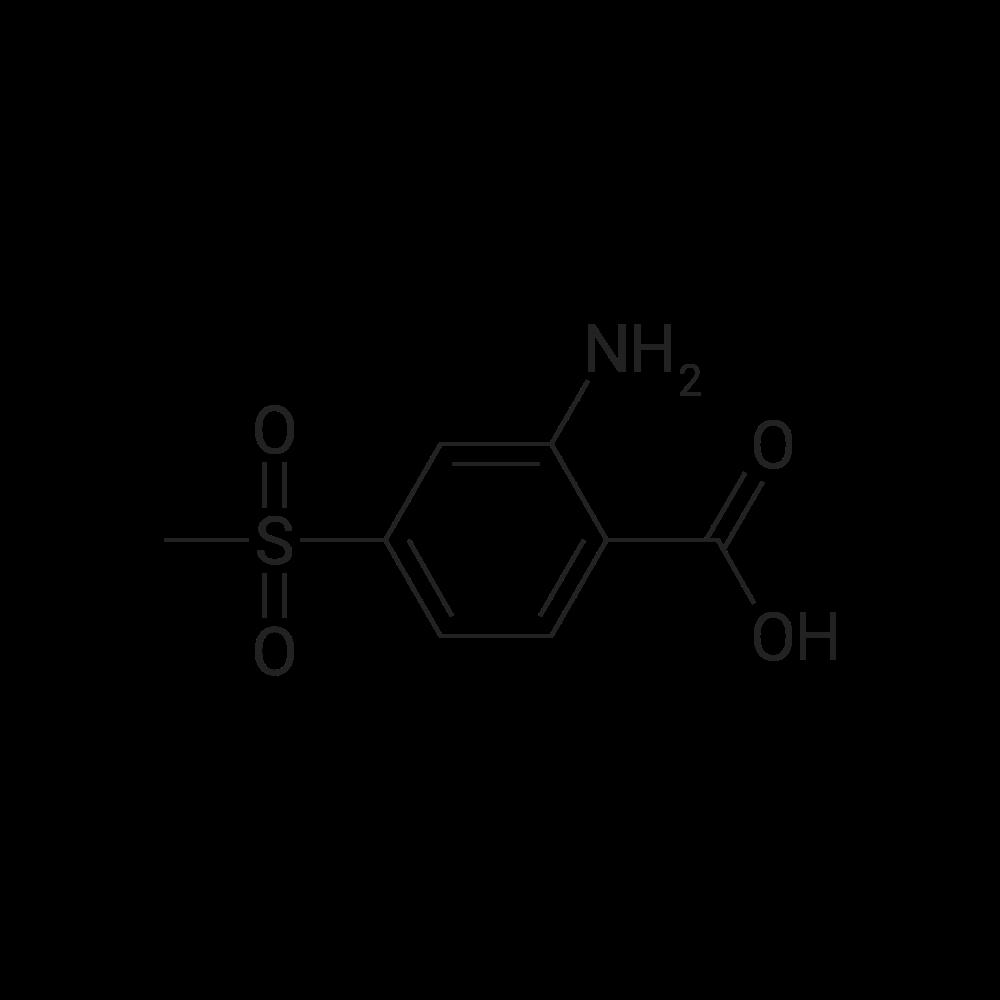 2-Amino-4-(methylsulfonyl)benzoic acid