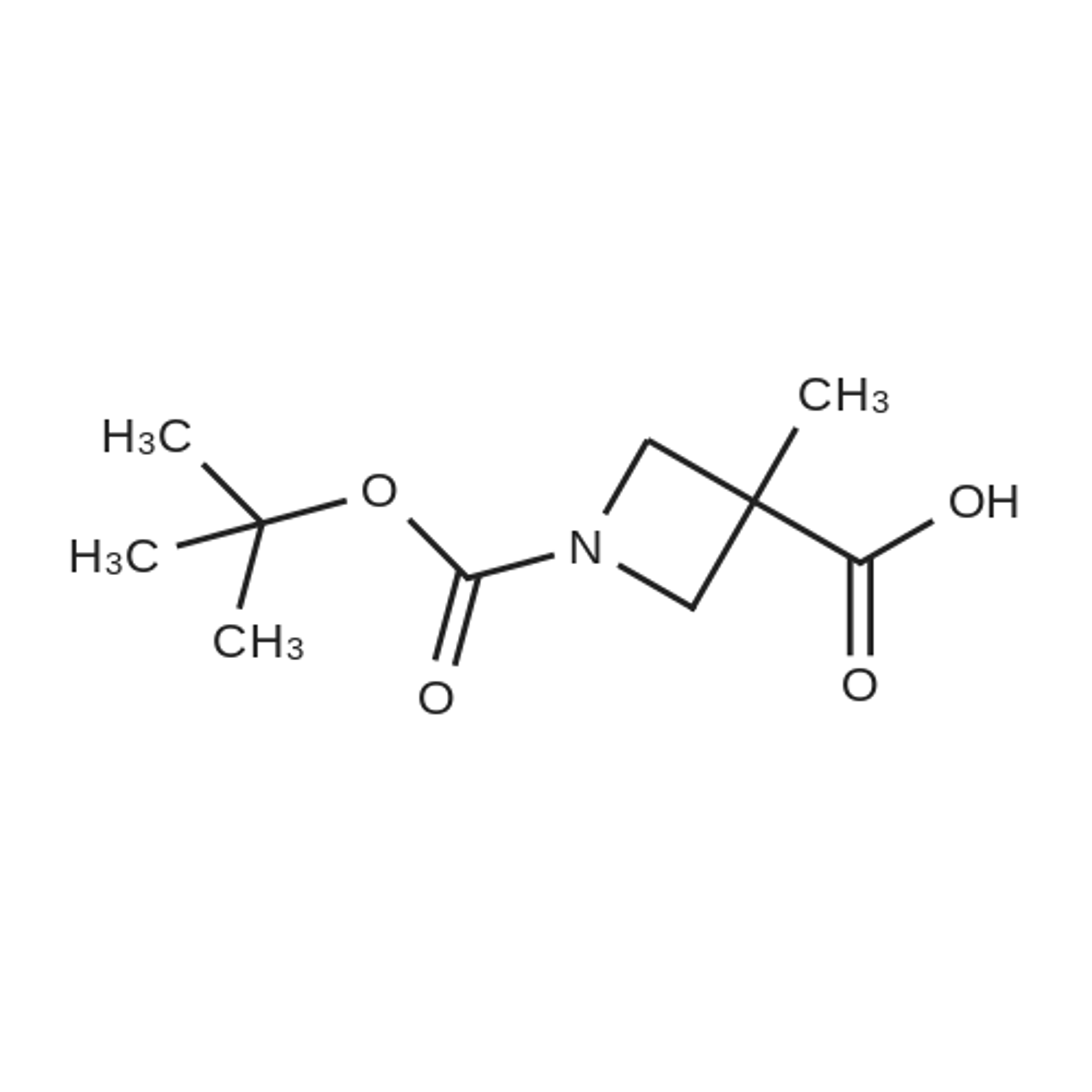 1-(tert-Butoxycarbonyl)-3-methylazetidine-3-carboxylic acid