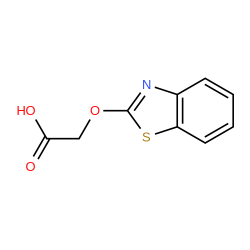 2-(Benzo[d]thiazol-2-yloxy)acetic acid