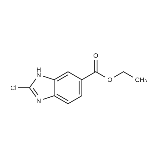 Ethyl 2-chloro-1H-benzo[d]imidazole-6-carboxylate