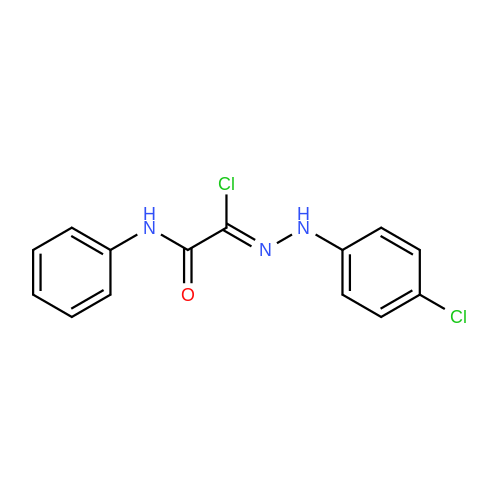 N'-(4-Chlorophenyl)-2-oxo-2-(phenylamino)acetohydrazonoyl chloride