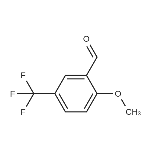 2-Methoxy-5-(trifluoromethyl)benzaldehyde