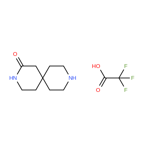 3,9-Diazaspiro[5.5]undecan-2-one 2,2,2-trifluoroacetate