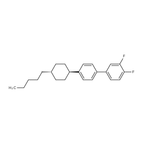 3,4-Difluoro-4'-(trans-4-pentylcyclohexyl)-1,1'-biphenyl