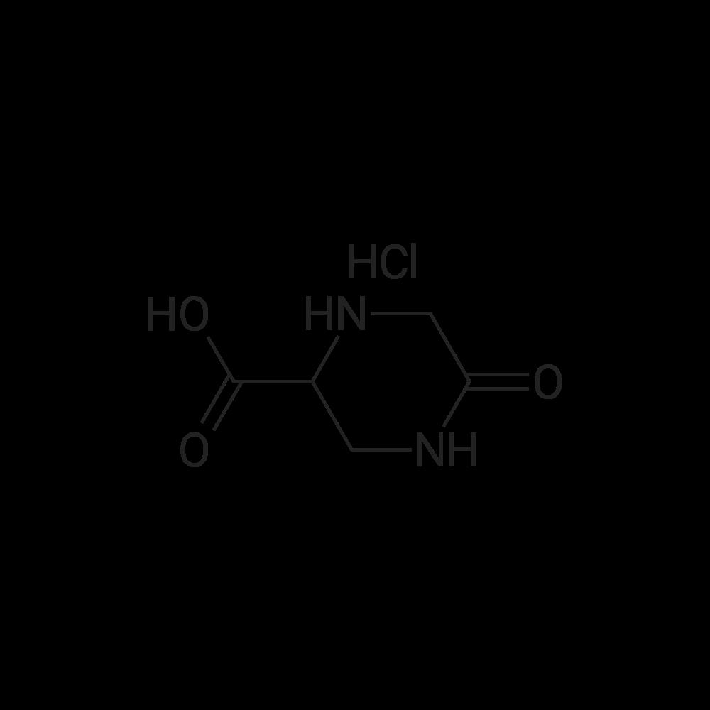 5-Oxopiperazine-2-carboxylic acid hydrochloride
