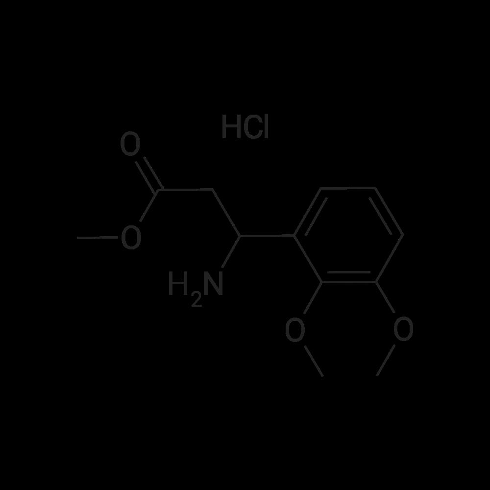 Methyl 3-amino-3-(2,3-dimethoxyphenyl)propanoate hydrochloride