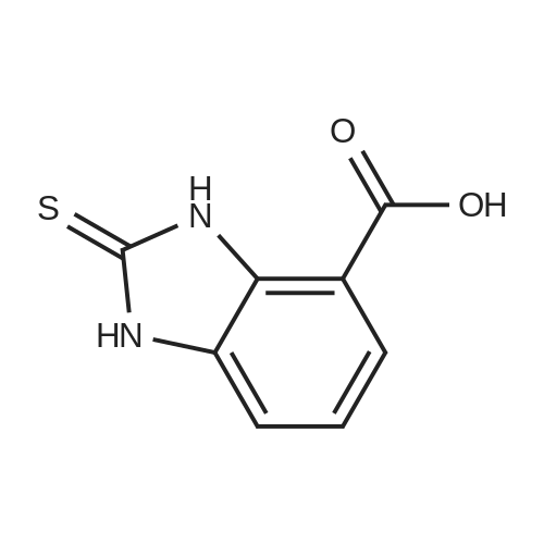 2-Thioxo-2,3-dihydro-1H-benzo[d]imidazole-4-carboxylic acid