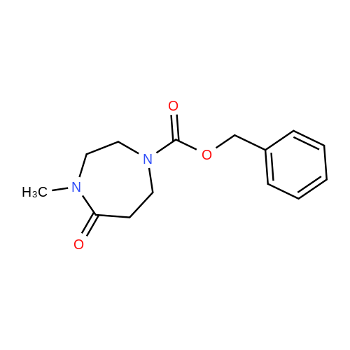 Benzyl 4-methyl-5-oxo-1,4-diazepane-1-carboxylate