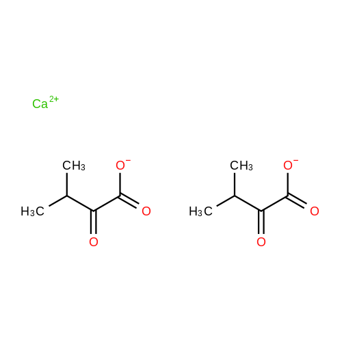 Calcium 3-methyl-2-oxobutanoate