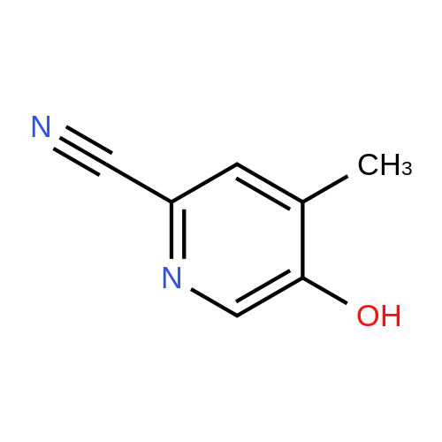 5-Hydroxy-4-methylpicolinonitrile