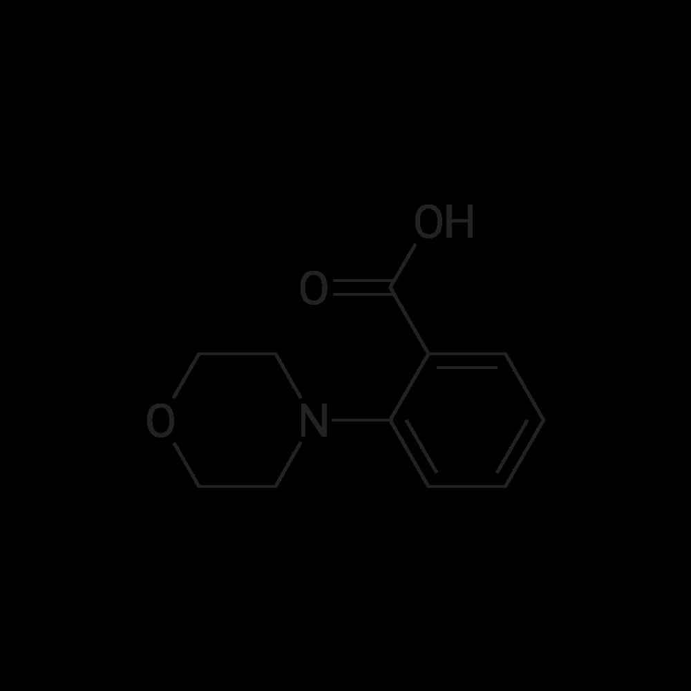 2-Morpholinobenzoic acid