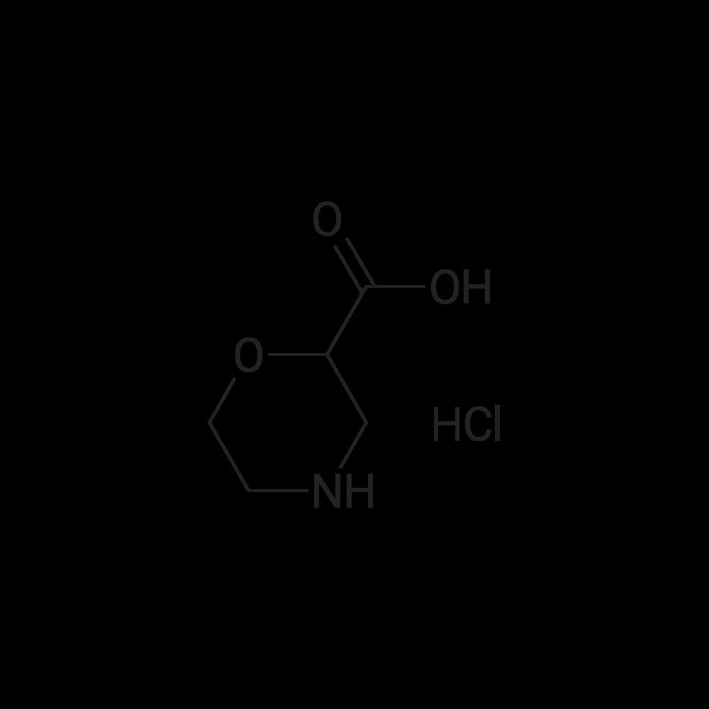 Morpholine-2-carboxylic acid hydrochloride