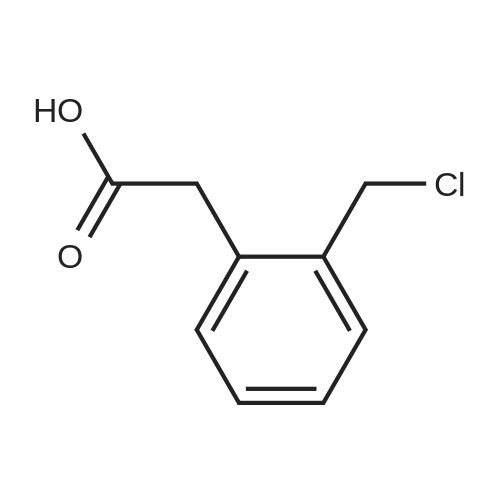 2-(2-(Chloromethyl)phenyl)acetic acid