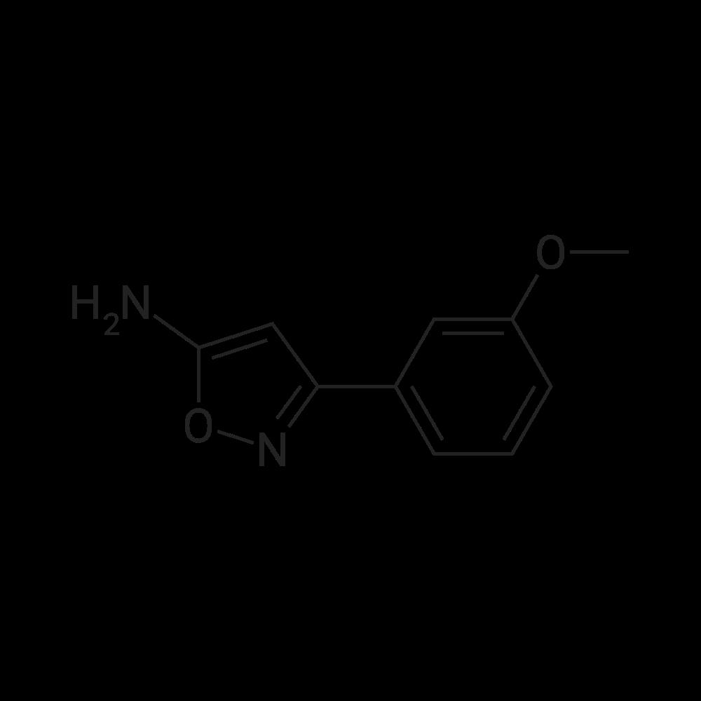 5-Amino-3-(3-methoxyphenyl)isoxazole