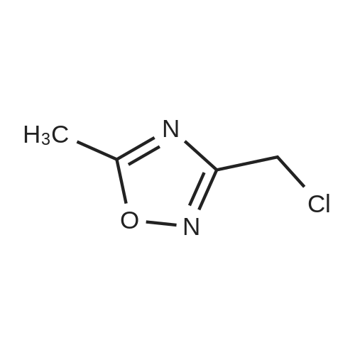 3-(Chloromethyl)-5-methyl-1,2,4-oxadiazole