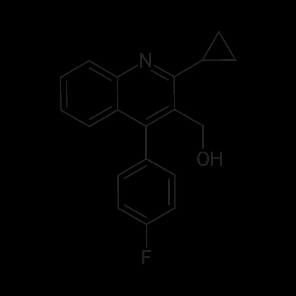 (2-Cyclopropyl-4-(4-fluorophenyl)quinolin-3-yl)methanol
