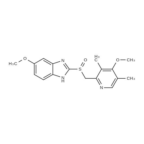 (R)-5-Methoxy-2-(((4-methoxy-3,5-dimethylpyridin-2-yl)methyl)sulfinyl)-1H-benzo[d]imidazole