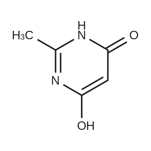 6-Hydroxy-2-methylpyrimidin-4(3H)-one