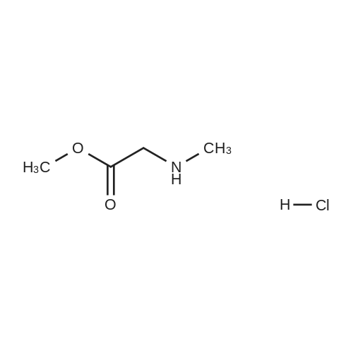 Methyl N-methylglycinate hydrochloride