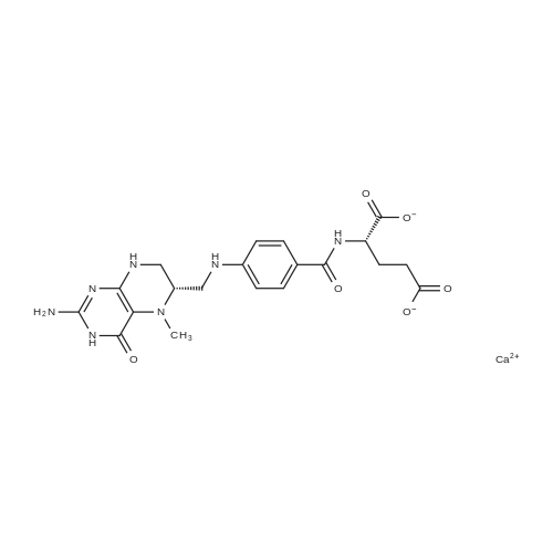 (S)-2-(4-((((S)-2-Amino-5-methyl-4-oxo-3,4,5,6,7,8-hexahydropteridin-6-yl)methyl)amino)benzamido)pentanedioic acid, calcium salt
