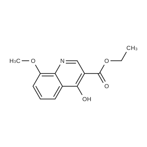 Ethyl 4-hydroxy-8-methoxyquinoline-3-carboxylate