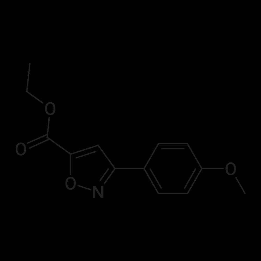 Ethyl 3-(4-methoxyphenyl)isoxazole-5-carboxylate