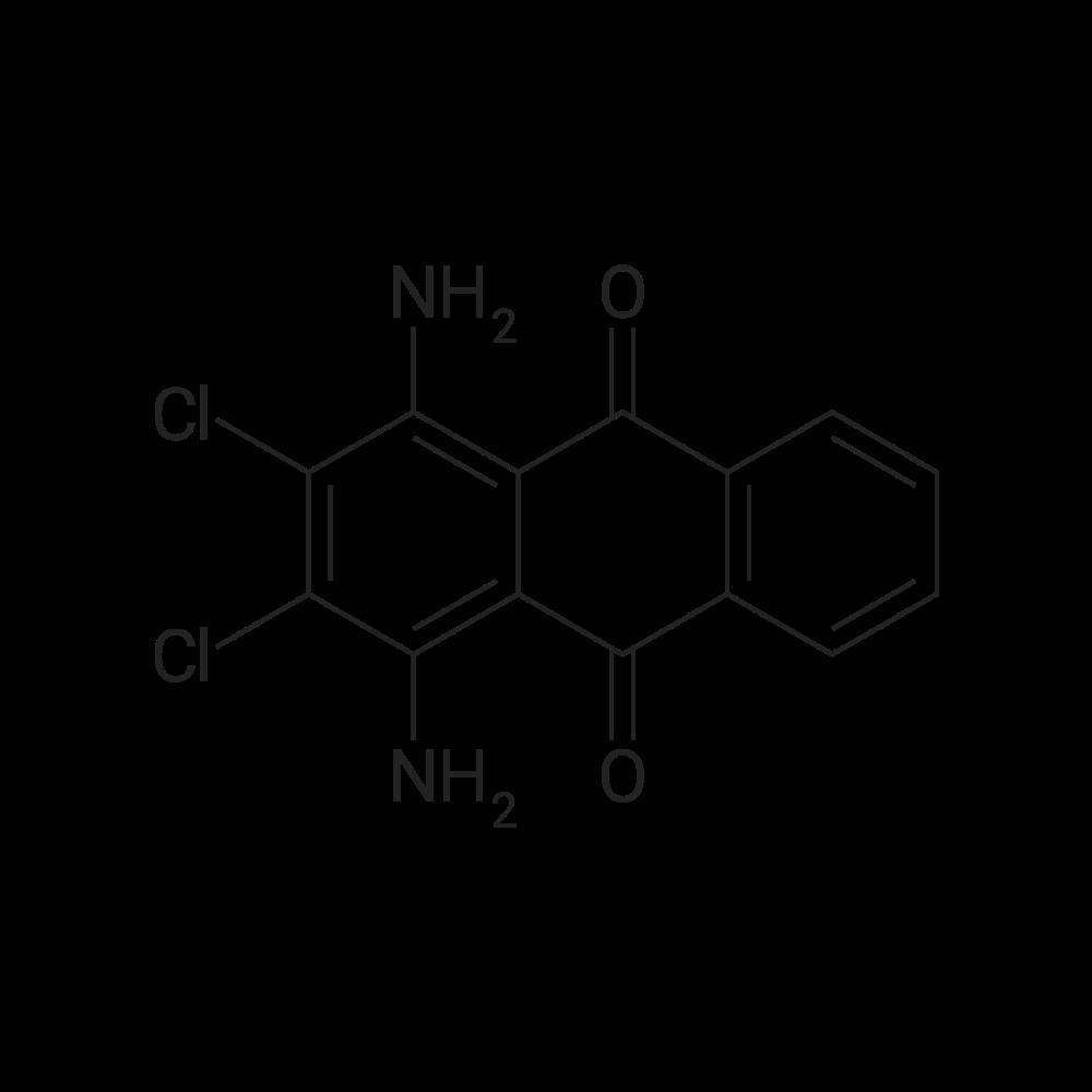 1,4-Diamino-2,3-dichloroanthracene-9,10-dione