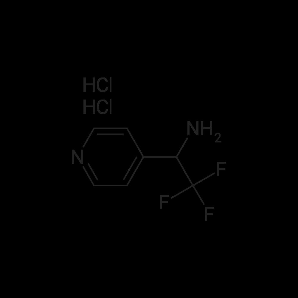 2,2,2-Trifluoro-1-(pyridin-4-yl)ethanamine dihydrochloride