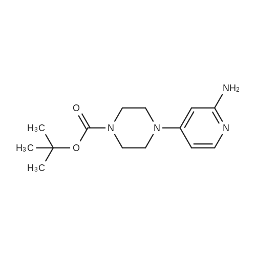 tert-Butyl 4-(2-aminopyridin-4-yl)piperazine-1-carboxylate
