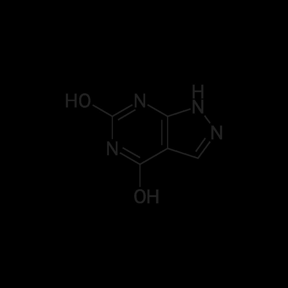 1H-Pyrazolo[3,4-d]pyrimidine-4,6-diol