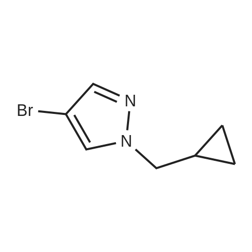 4-Bromo-1-(cyclopropylmethyl)-1H-pyrazole