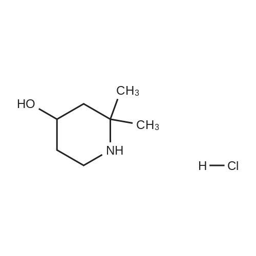4-Hydroxy-2,2-dimethylpiperidine Hydrochloride