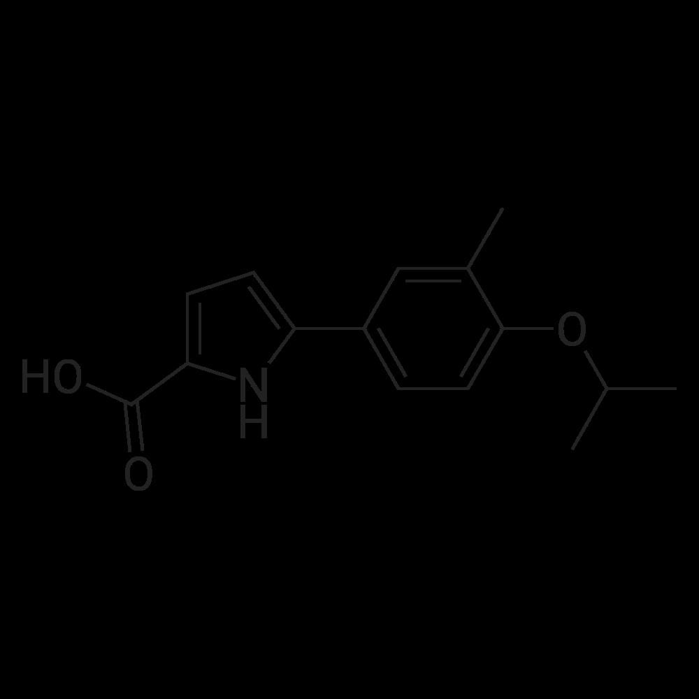 5-(4-Isopropoxy-3-methylphenyl)-1H-pyrrole-2-carboxylic acid