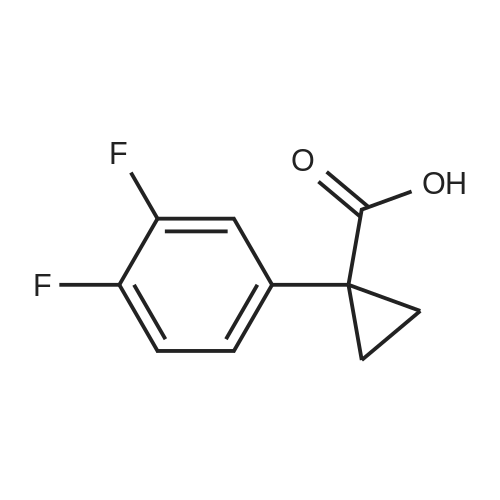 1-(3,4-Difluorophenyl)cyclopropanecarboxylic acid