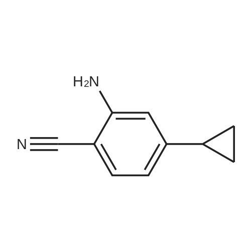 2-Amino-4-cyclopropylbenzonitrile